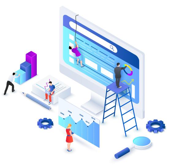 Site web agence immobilière, rapide et responsive design