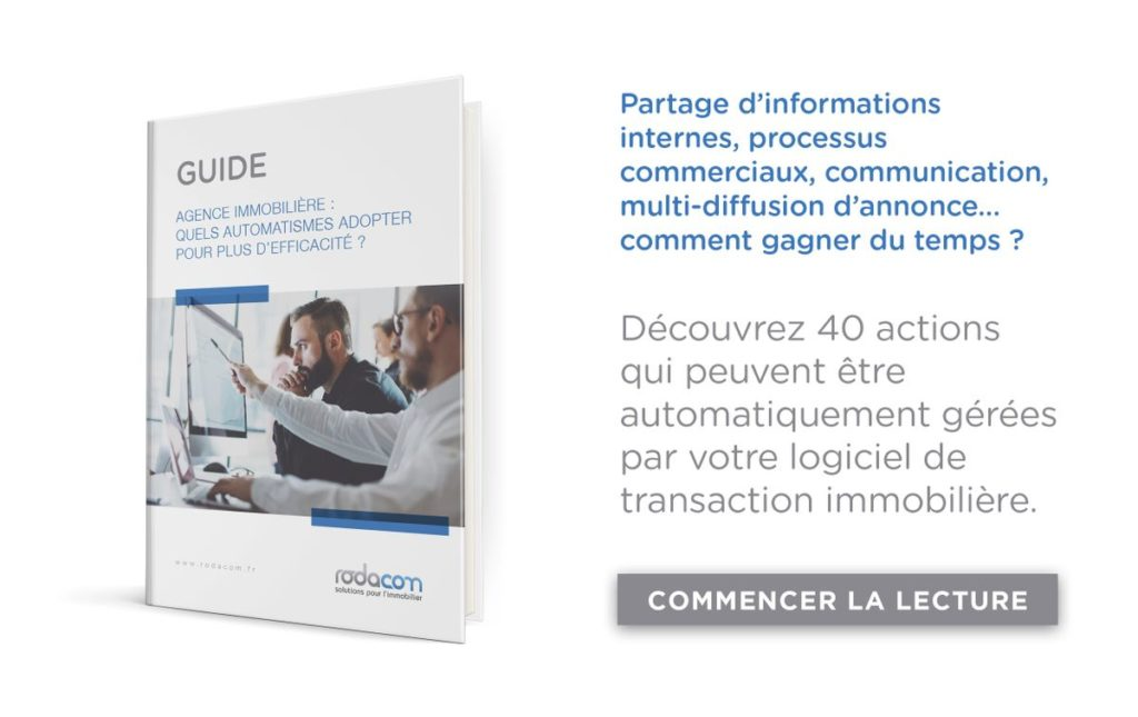 Guide agence immobilière : automatisme