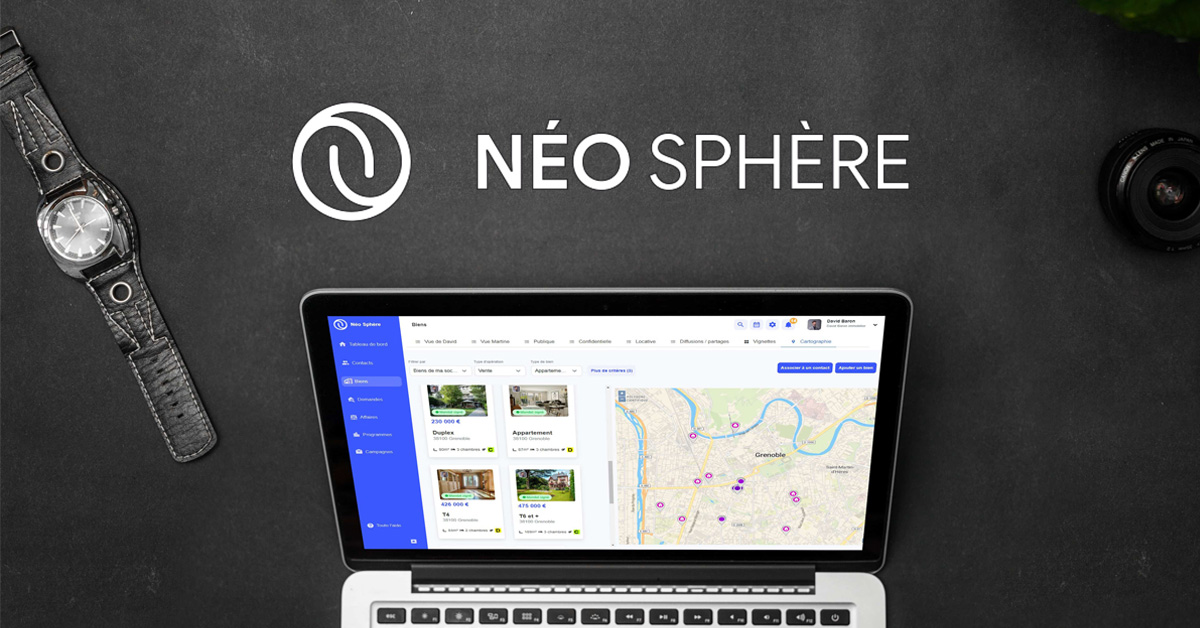 Neo Sphere-logiciel immobilier-CRM immobilier-agence immobiliere