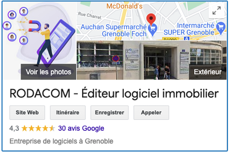 Google My Business - Rodacom