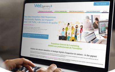 Communiqué de presse Immomatin : Webgenery rejoint le groupe DP Logiciels