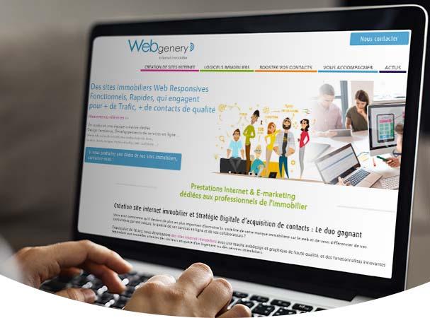 Webgenery - dp logiciels - immomatin